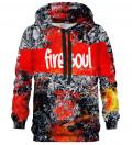 Bluza z kapturem Fire Soul