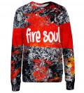 Fire Soul womens sweatshirt
