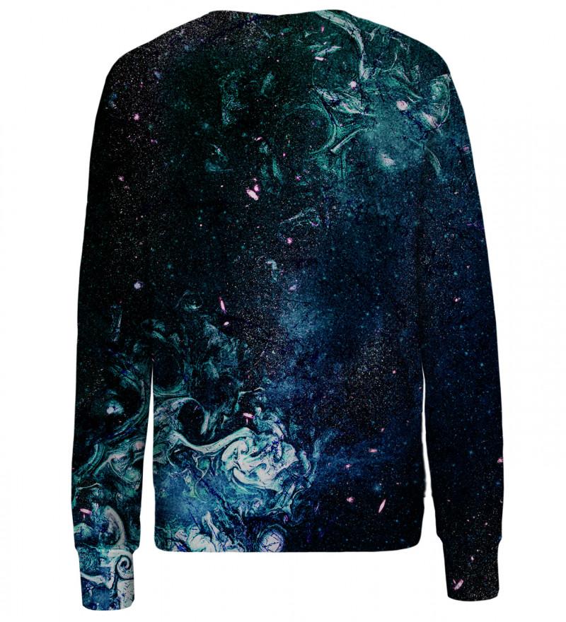 Splitting womens sweatshirt