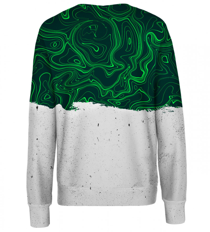 Swirl womens sweatshirt