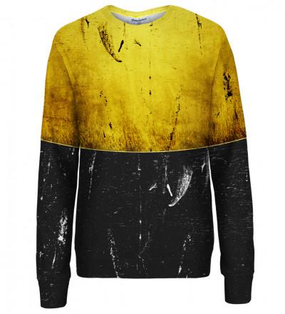Flaw on Gold womens sweatshirt