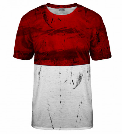 Red and White t-shirt
