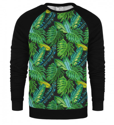 Tropical raglan sweatshirt
