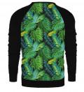 Tropical raglan sweatshirt