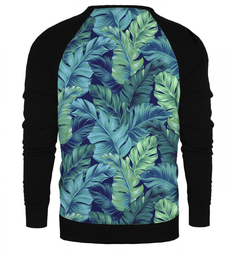 Blue Paradise raglan sweatshirt
