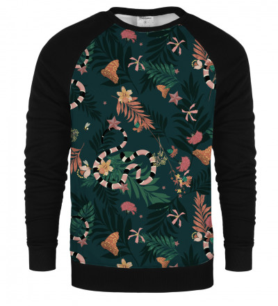 In the Jungle raglan sweatshirt