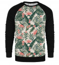 Jungle Flowers raglan sweatshirt