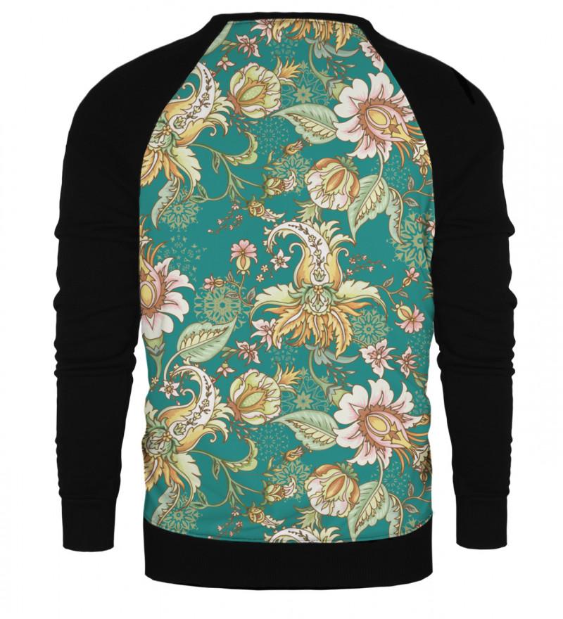 Paisley raglan sweatshirt