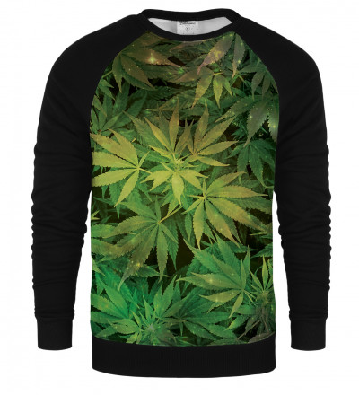 Weed raglan sweatshirt