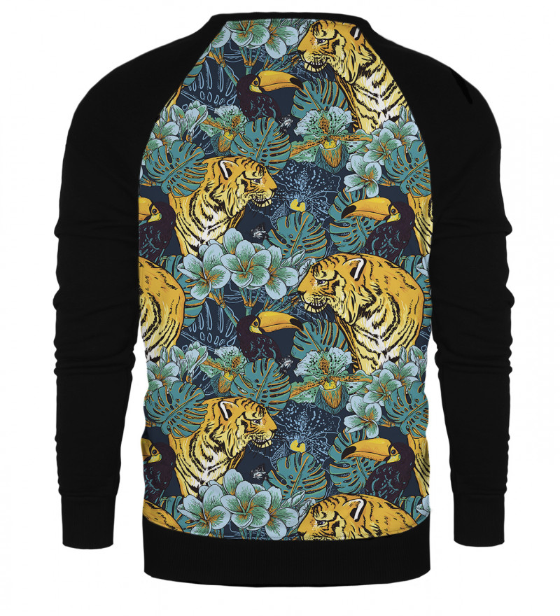 Jungle raglan sweatshirt