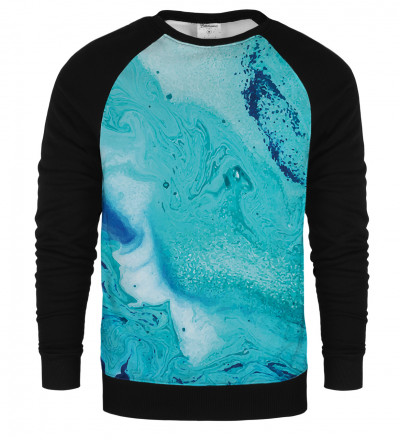 Melting raglan sweatshirt