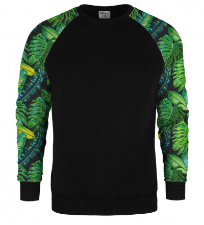 Tropical raglan sweater