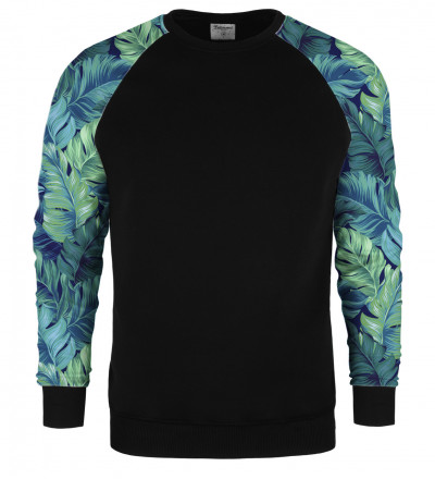Blue Paradise raglan sweater