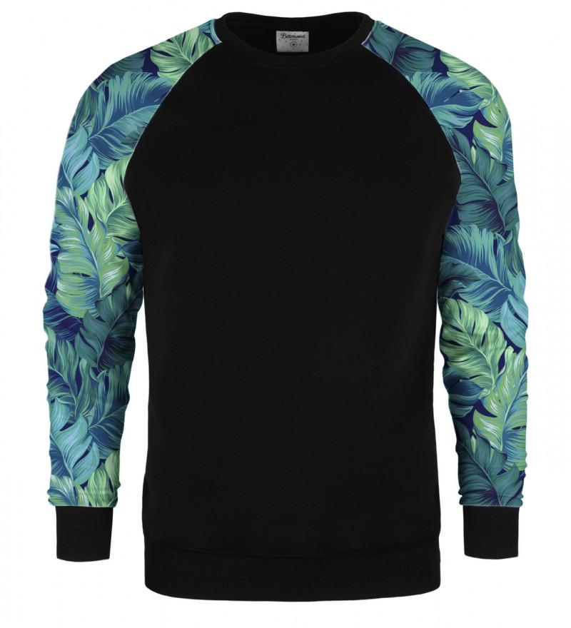 Blue Paradise raglan sweater