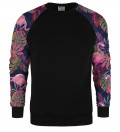 Flamingos raglan sweatshirt