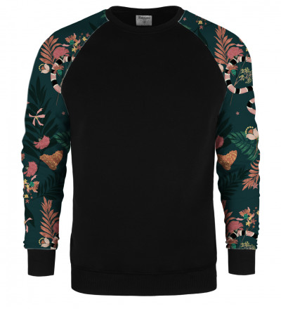 In the Jungle raglan sweater