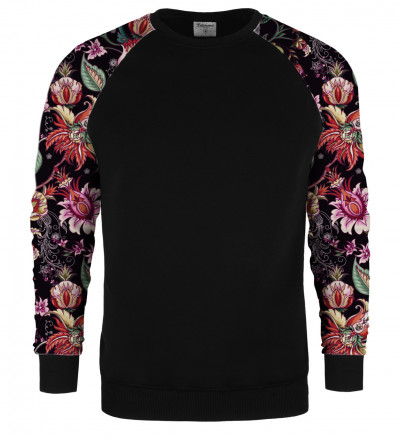 Bluza raglan Paisley Print