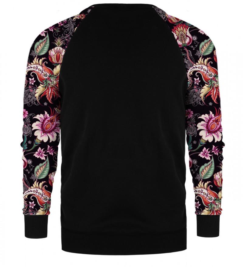 Paisley Print raglan sweater