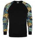 Jungle raglan sweater