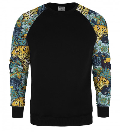 Jungle raglan sweater