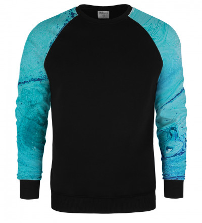 Melting raglan sweater