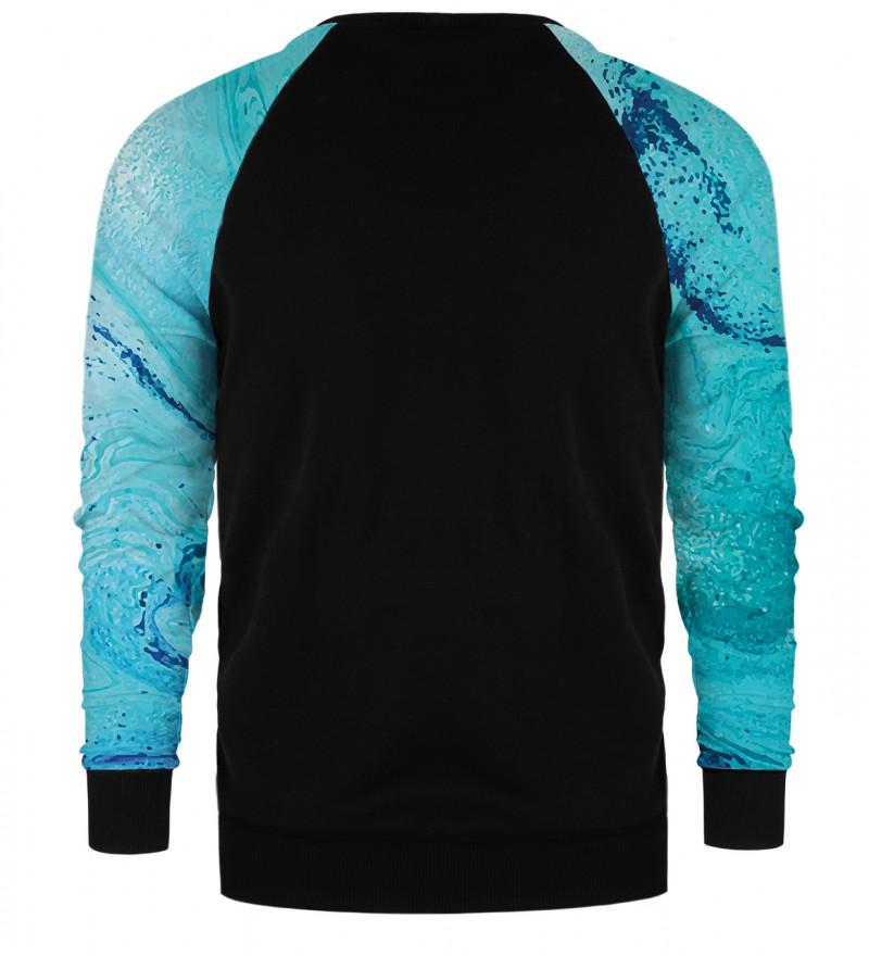 Melting raglan sweater