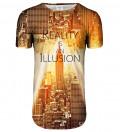 Przedłużany t-shirt Reality