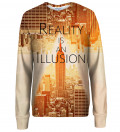 Reality womens sweatshirt