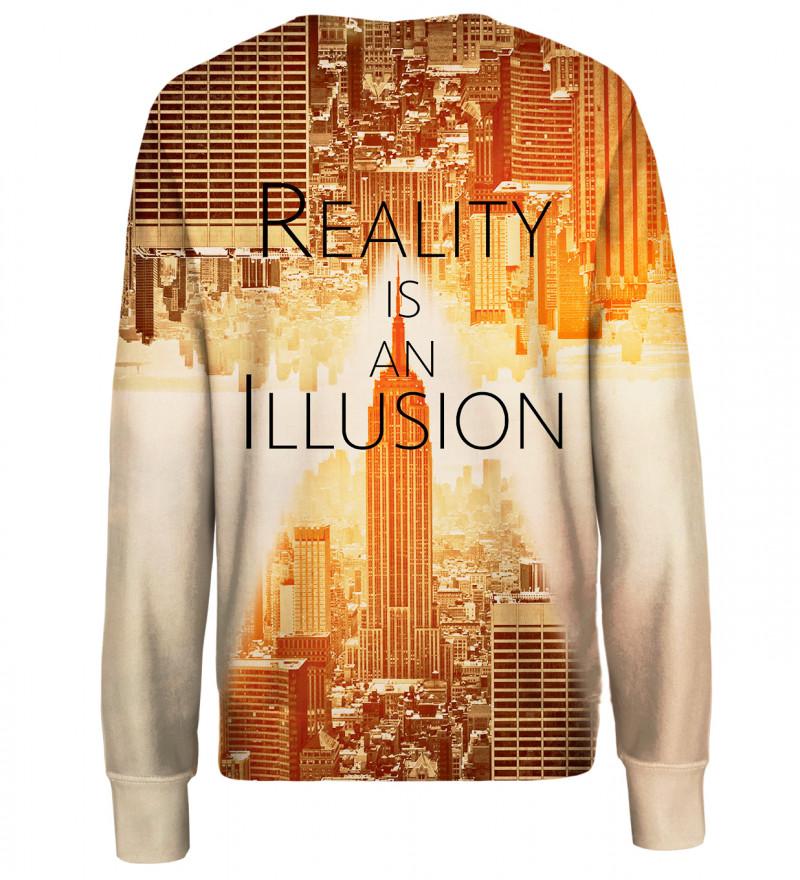 Reality womens sweatshirt