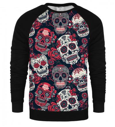 Cara de Muerte raglan sweatshirt