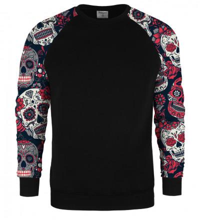 Cara de Muerte raglan sweater
