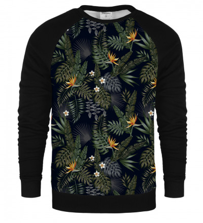 Dark Jungle raglan sweatshirt