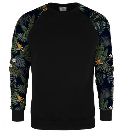 Dark Jungle raglan sweater