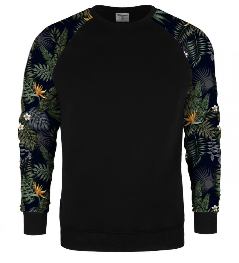 Dark Jungle raglan sweater