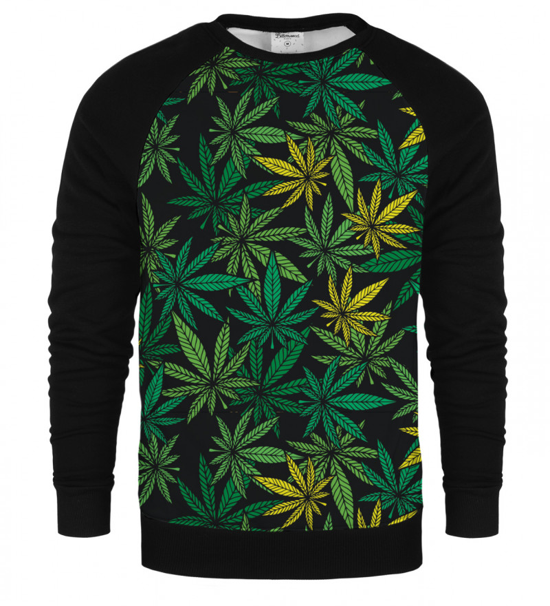 Typical Leaves raglan sweatshirt