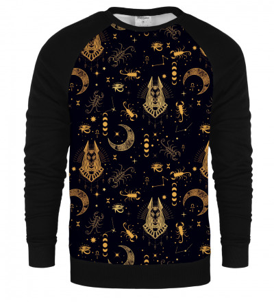 Anubis raglan sweatshirt