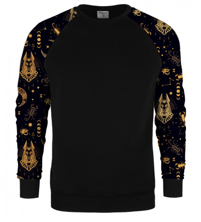 Anubis raglan sweater