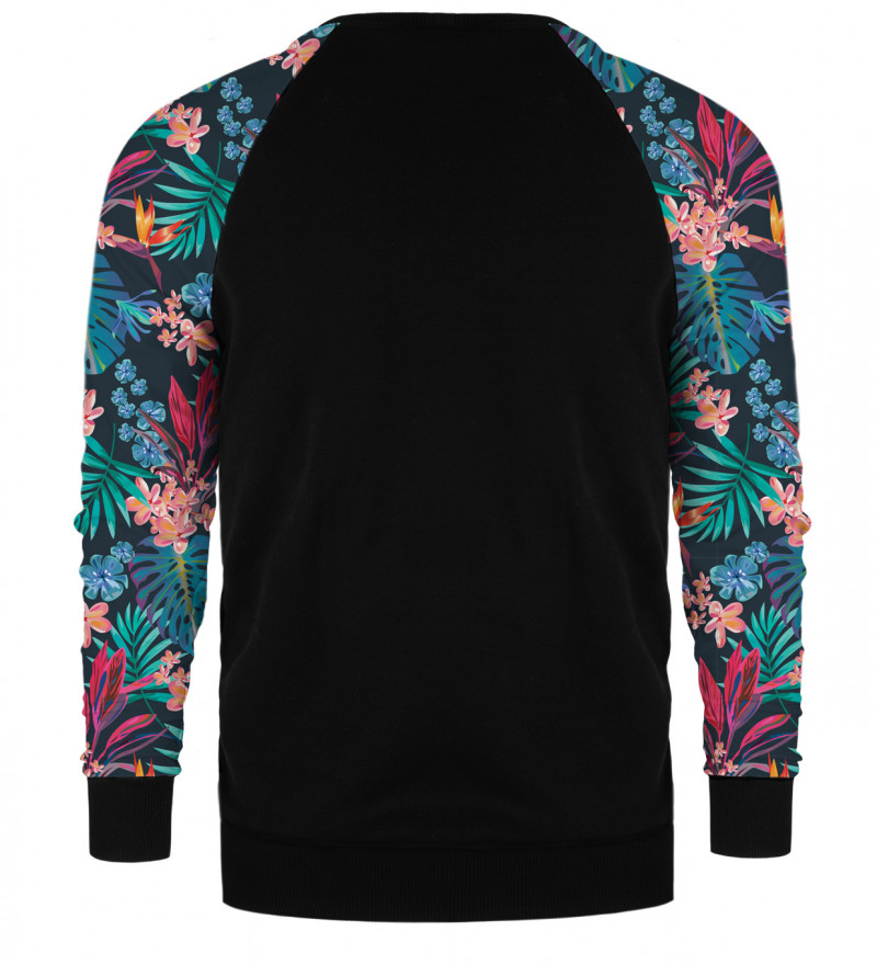 Bluza raglan Tropical Leaves