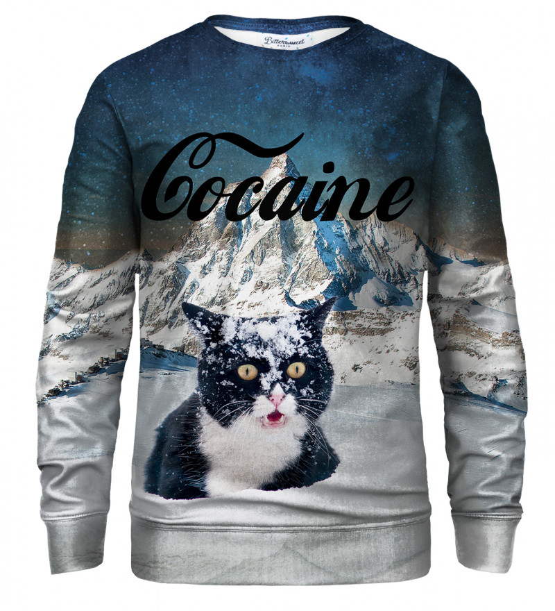 Cocaine Cat sweatshirt