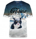 Cocaine Cat t-shirt