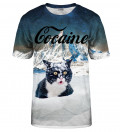 T-shirt Cocaine Cat
