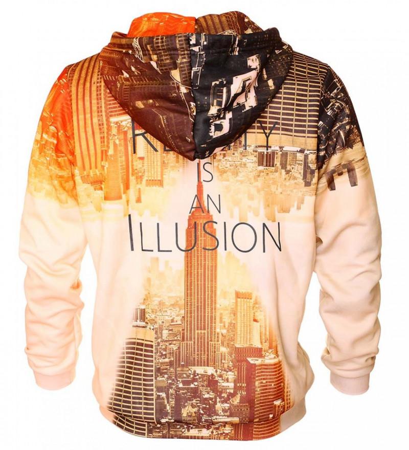 Reality womens hoodie