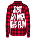 Go with the Flow flannel shirt