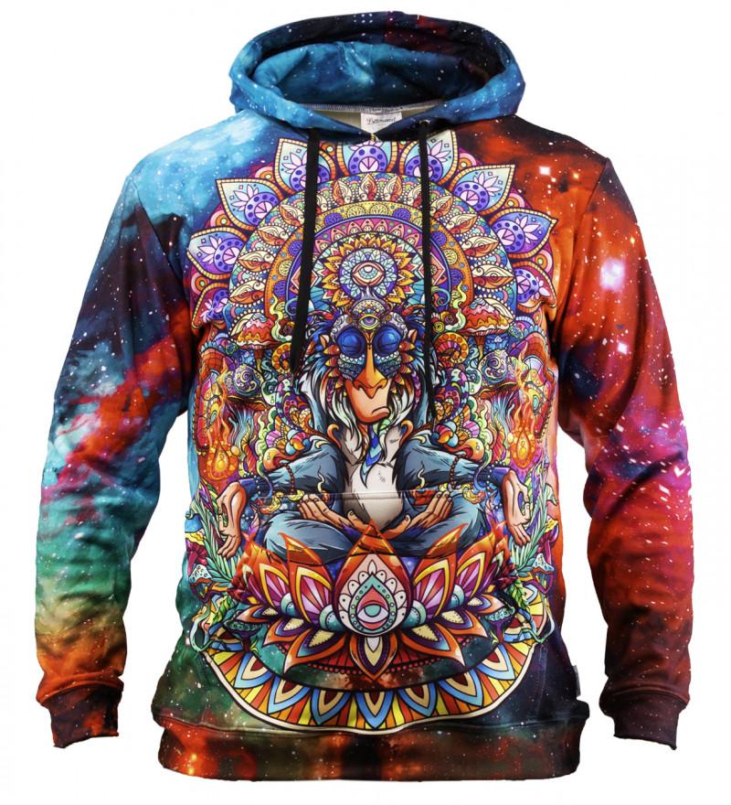 Bluza z kapturem Shaman King galaxy