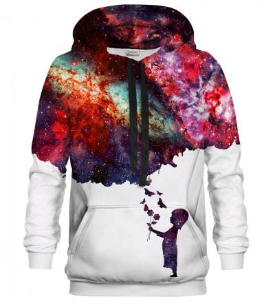Her own Galaxy hoodie