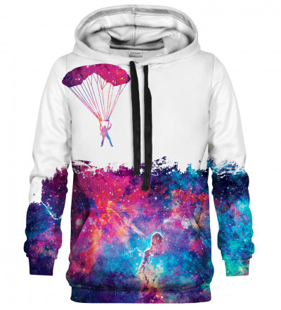 Jumping into space hoodie