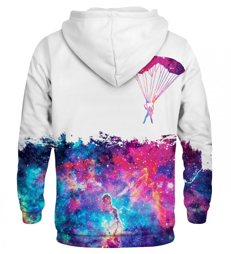 Bluza z kapturem Jumping into space