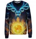 Celestial womens sweatshirt, design by Jonas Jödicke - Jojoes Art