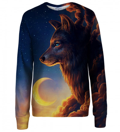 Night Guardian womens sweatshirt