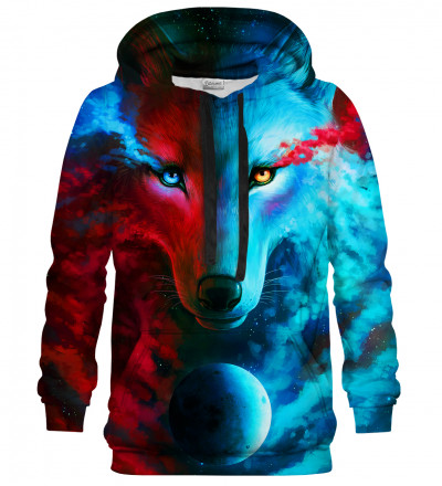 Dark & Light Meet hoodie